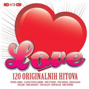 RAZNI IZVOĐAČI – LOVE –  6CD BOX