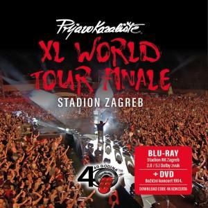 PRLJAVO KAZALIŠTE – XL WORLD TOUR FINALE, STADION ZAGREB (BD+DVD)